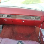 front passenger side interior view of 1969 Cadillac Convertible DeVille