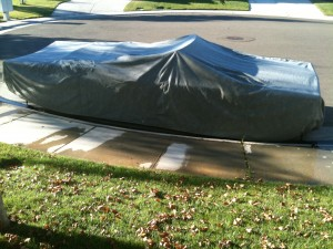 Car cover for the 1969 Cadillac DeVille Convertible