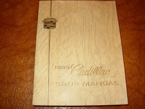 1969 Cadillac Shop Manual