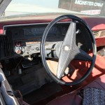 steering wheel view on my 1969 Cadillac DeVille Convertible