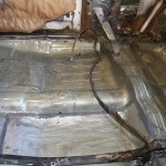 floor board reinforced on my 1969 Cadillac DeVille Convertible