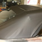 new vinyl convertible top on my 1969 Cadillac DeVille Convertible